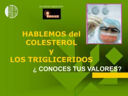 TRIGLICERIDOS - Paginas Cristianas: directorio de Iglesias