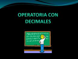 Operatoria con Racionales - LICEO CAMILO HENRIQUEZ