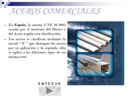 ACEROS COMERCIALES - soliedra