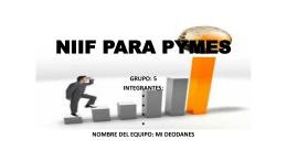 NIIF PARA PYMES - CONTABILIDADFINANCIERAICI2013