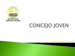 CONCEJO JOVEN - Sitio Oficial Municipalidad Ituzaing&#243