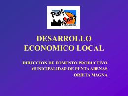 OFICINA DE FOMENTO PRODUCTIVO