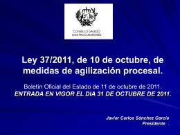Oficina Judicial - Ilustre Colegio Provincial de