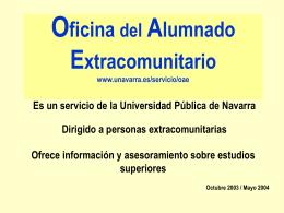 Oficina del alumnado extracomunitario