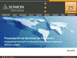 PROGRAMA CURSOS DIRECTORES DE OFICINA BANCARIA