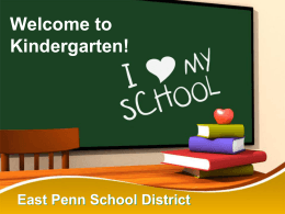 EPSD 12/08 - East Penn School District