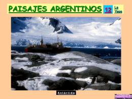 PAISAJES ARGENTINOS 12.