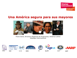 HelpAge International: quienes somos?