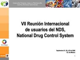 Diapositiva 1 - United Nations Office on Drugs and Crime