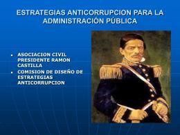 ASOCIACION CIVIL PRESIDENTE RAMON CASTILLA