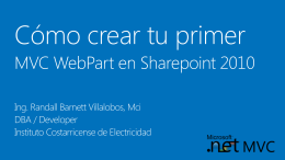 MVC con Sharepoint 2010