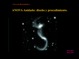 Anova anidado - .:: GEOCITIES.ws