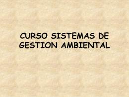 CONCEPTO DE MEDIO AMBIENTE.