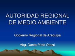 AUTORIDAD REGIONAL DE MEDIO AMBIENTE - Geco