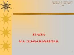 EL AGUA - .:: Universidad Privada Norbert Wiener