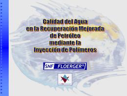 calidad de agua para eor con polimeros