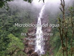 MICROBIOLOGIA DEL AGUA - Avindustrias Guatemala