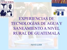 TECNOLOGIAS DE CLORACION