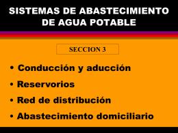 COMPONENTES DEL SISTEMA DE ABASTECIMIENTO DE …