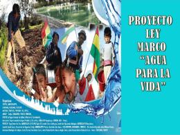 propuesta mmaa ley agua - Unitas