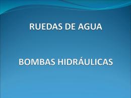 RUEDAS DE AGUA