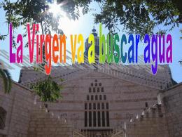 La Virgen va a buscar agua - Mariologia Maria Virgen