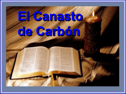 EL CANASTO DE CARBON