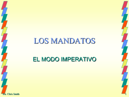 LOS MANDATOS - SchoolWorld an Edline Solution