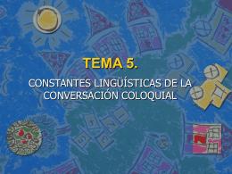 TEMA 5.
