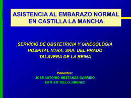 Control del embarazo normal en Castilla