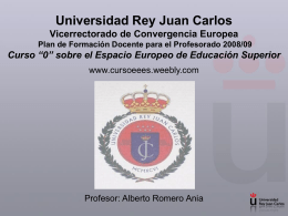 Diapositiva 1 - Prof Dr Alberto Romero Ania