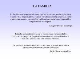 LA FAMILIA - biblioceop