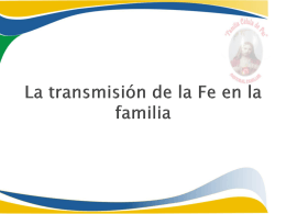 """Los valores que integran a la familia"""""""