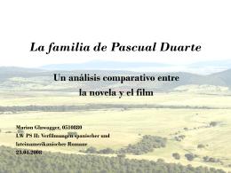 La familia de Pascual Duarte - Portal - Karl