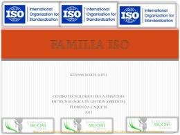 FAMILIA ISO - gestionambientalsena