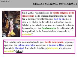 FAMILIA, SOCIEDAD ORIGINARIA, 1
