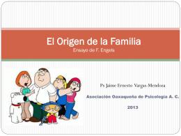 El Origen de la Familia Ensayo de F. Engels