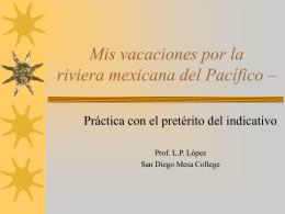 Unas vacaciones por la riviera mexicana