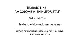 TRABAJO FINAL SOBRE HISTORIETAS