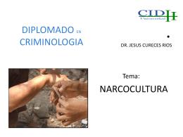 DIPLOMADO EN CRIMINOLOGIA