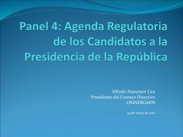 Panel final