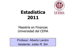 Clase final - Universidad del CEMA