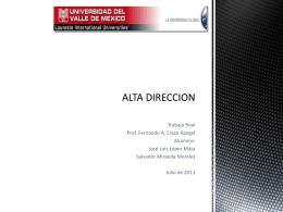 ALTA DIRECCION - altadireccionuvm