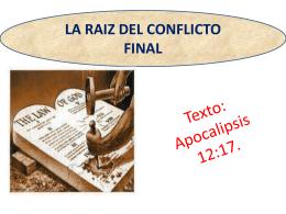 LA RAIZ DEL CONFLICTO FINAL