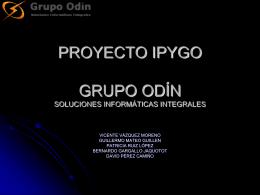 PROYECTO IPYGO: GRU