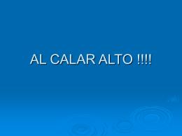 AL CALAR ALTO
