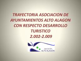 TRAYECTORIA ASOCIACION DE AYUNTAMIENTOS ALTO …