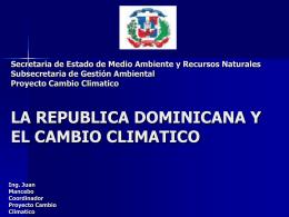 CAMBIO CLIMATICO - Bienvenid@ a la web de Fiadasec