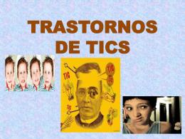 TRASTORNOS DE TICS