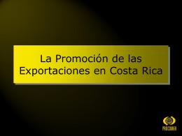 PROCOMER Promotora del Comercio Exterior de Costa Rica